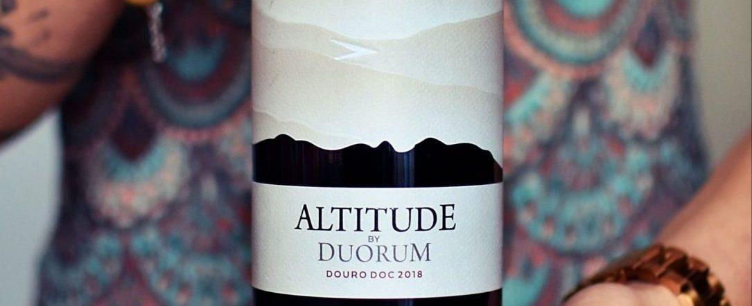 Altitude by Dourum, wino z biedronki