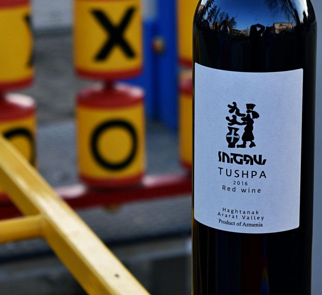 Armeńskie wino Tushpa