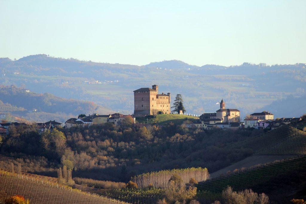 Barolo, winnice Piedmont