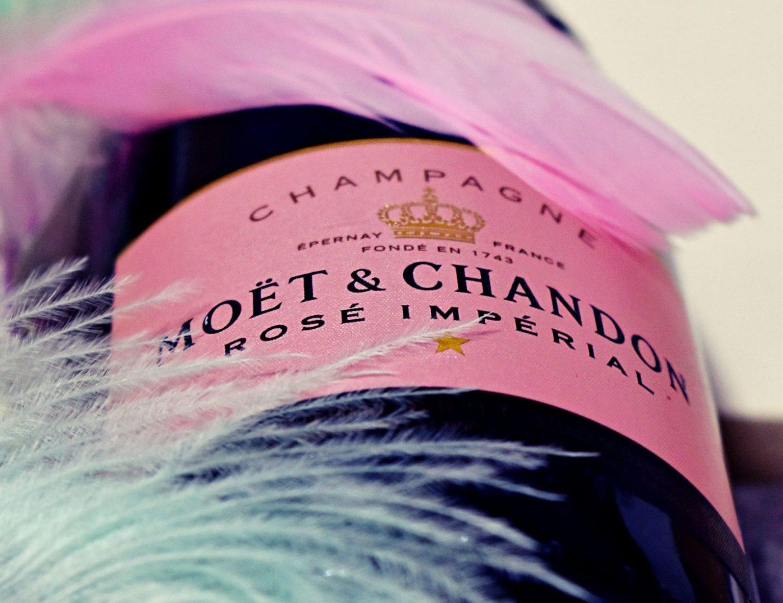 Champagne, Moët Rose