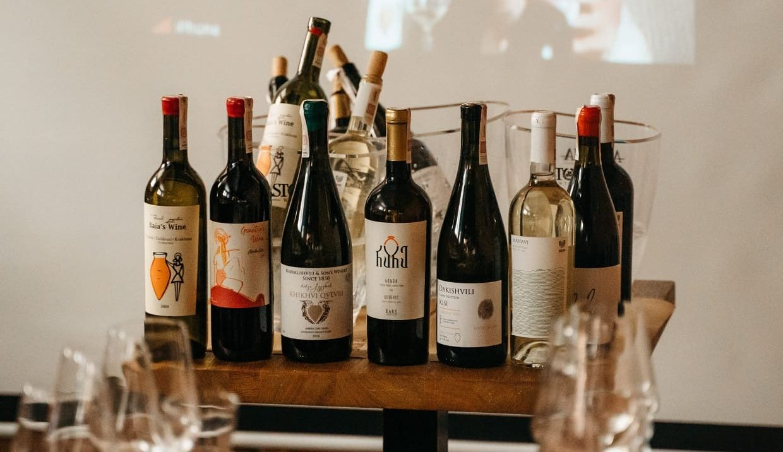 Dobre wina z Gruzji - degustacja