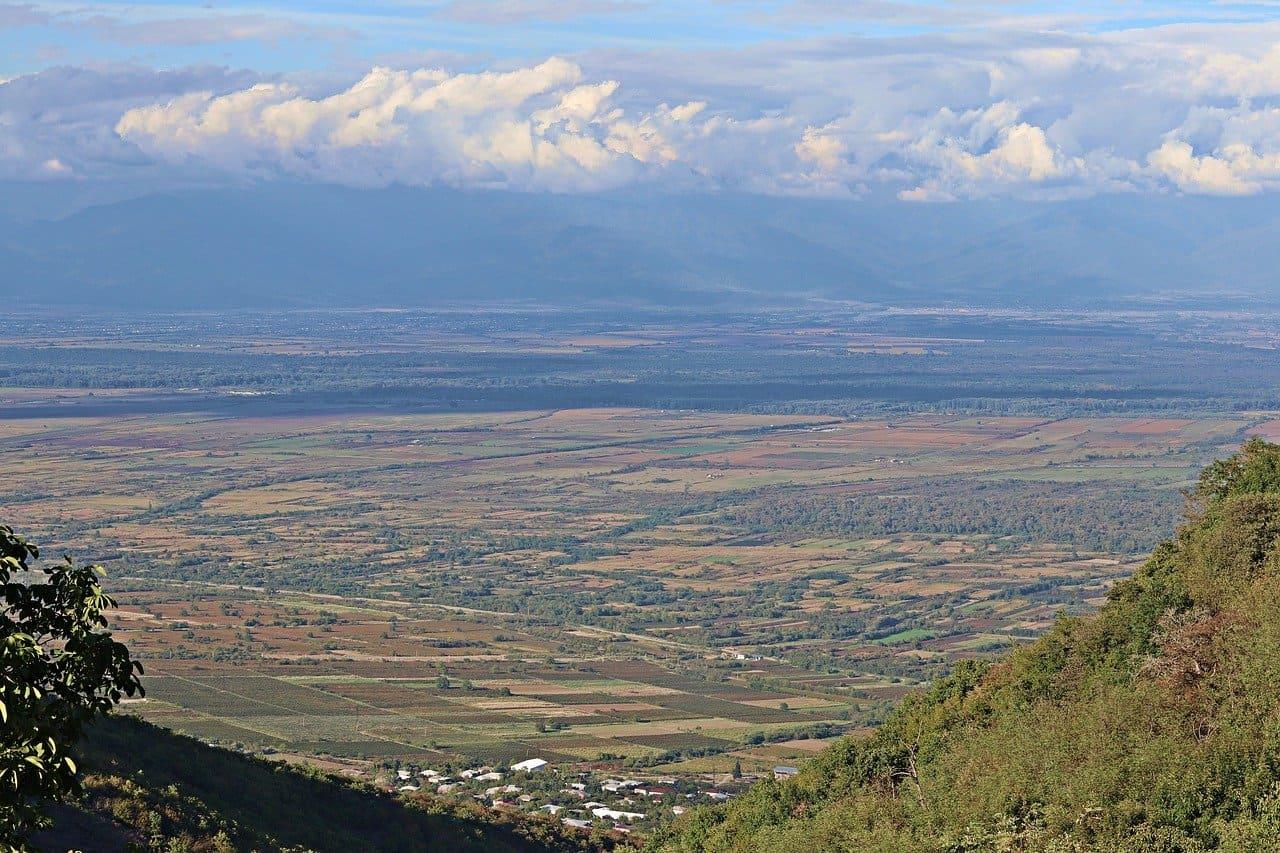 Gruzja Alzańska dolina
