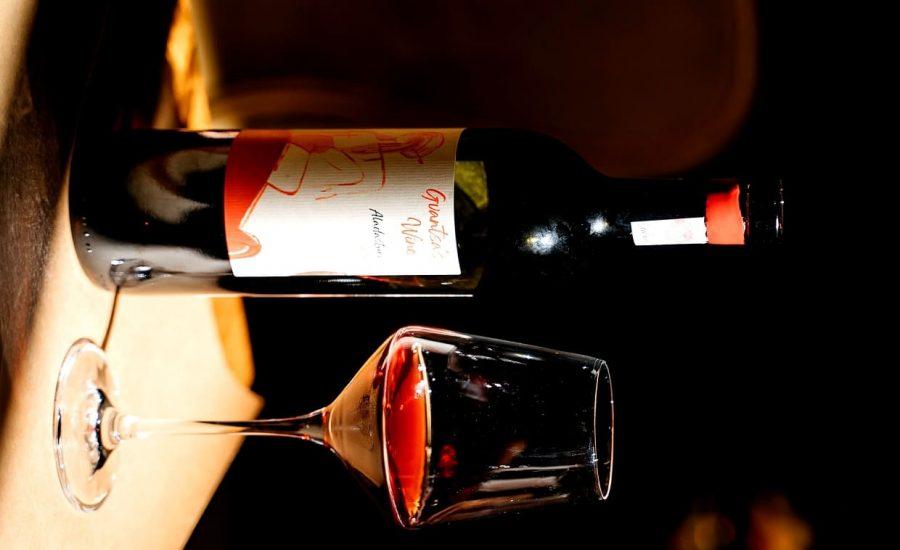 Gruzja - Gvantsas wine