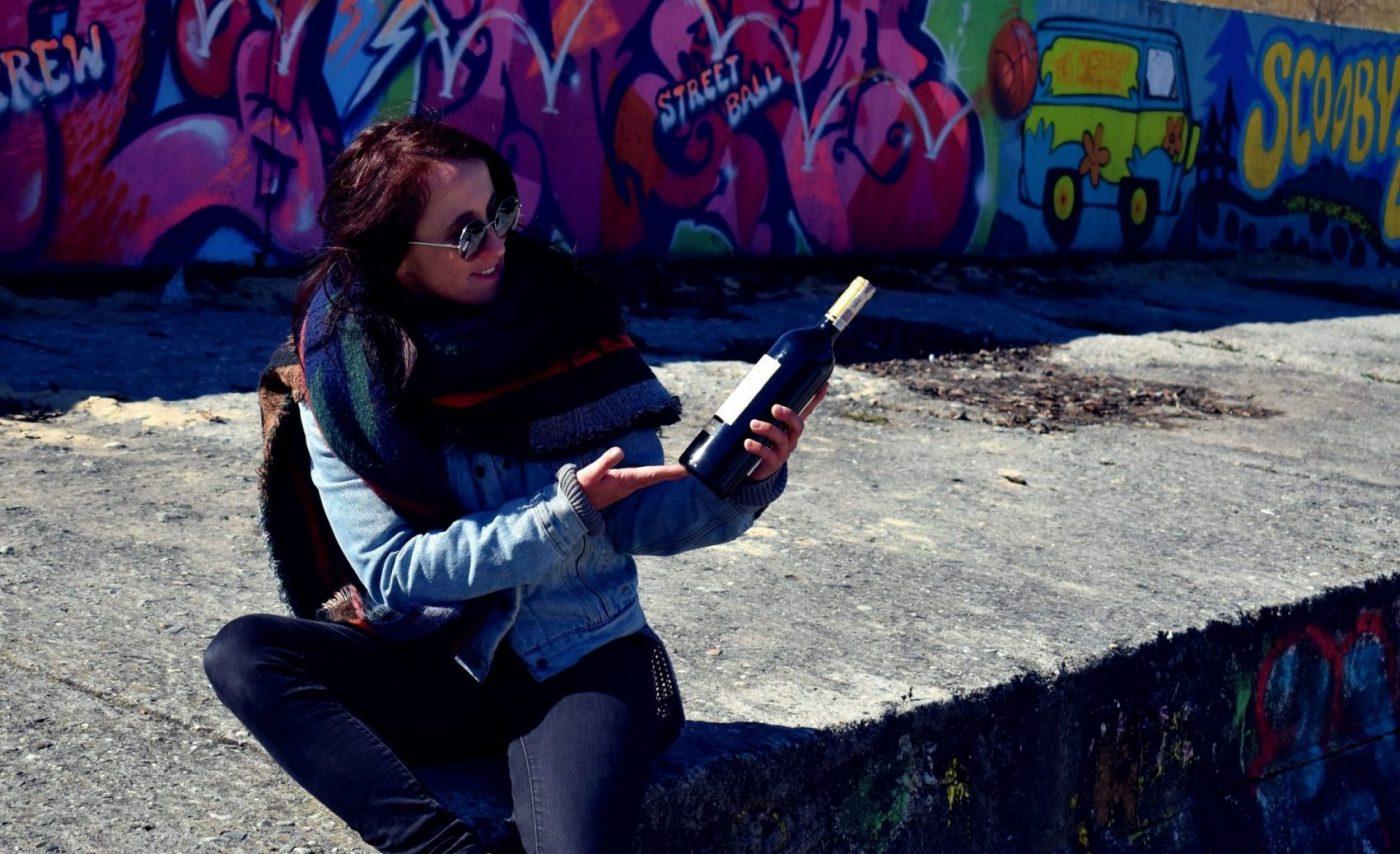 Justyna i wino wpojenie