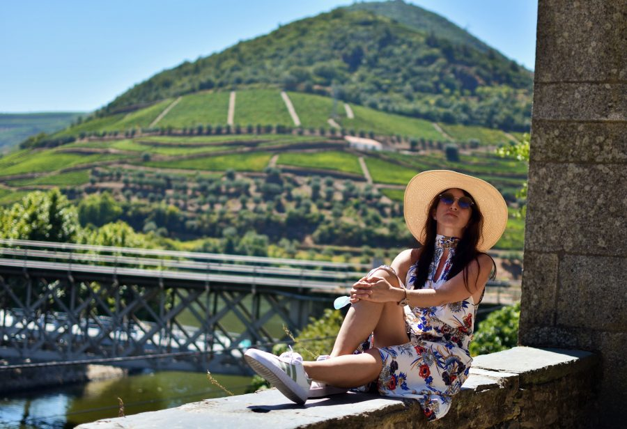 Justyna w Douro Valley