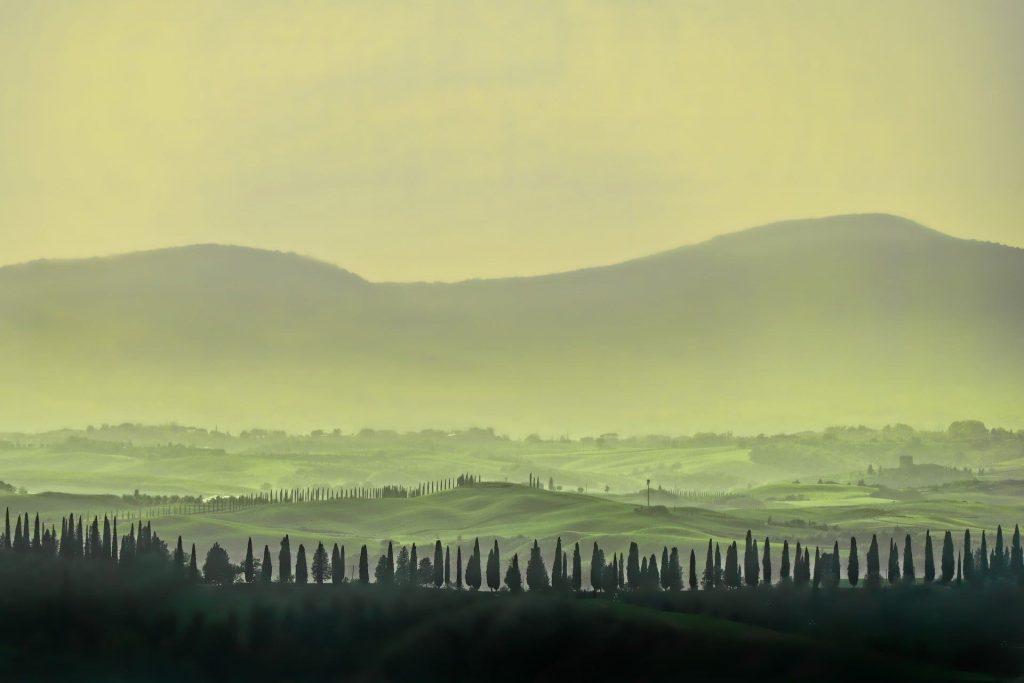 Toskania panorama