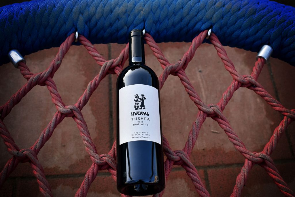 Tushpa, wino z Armenii, Ararat Valley