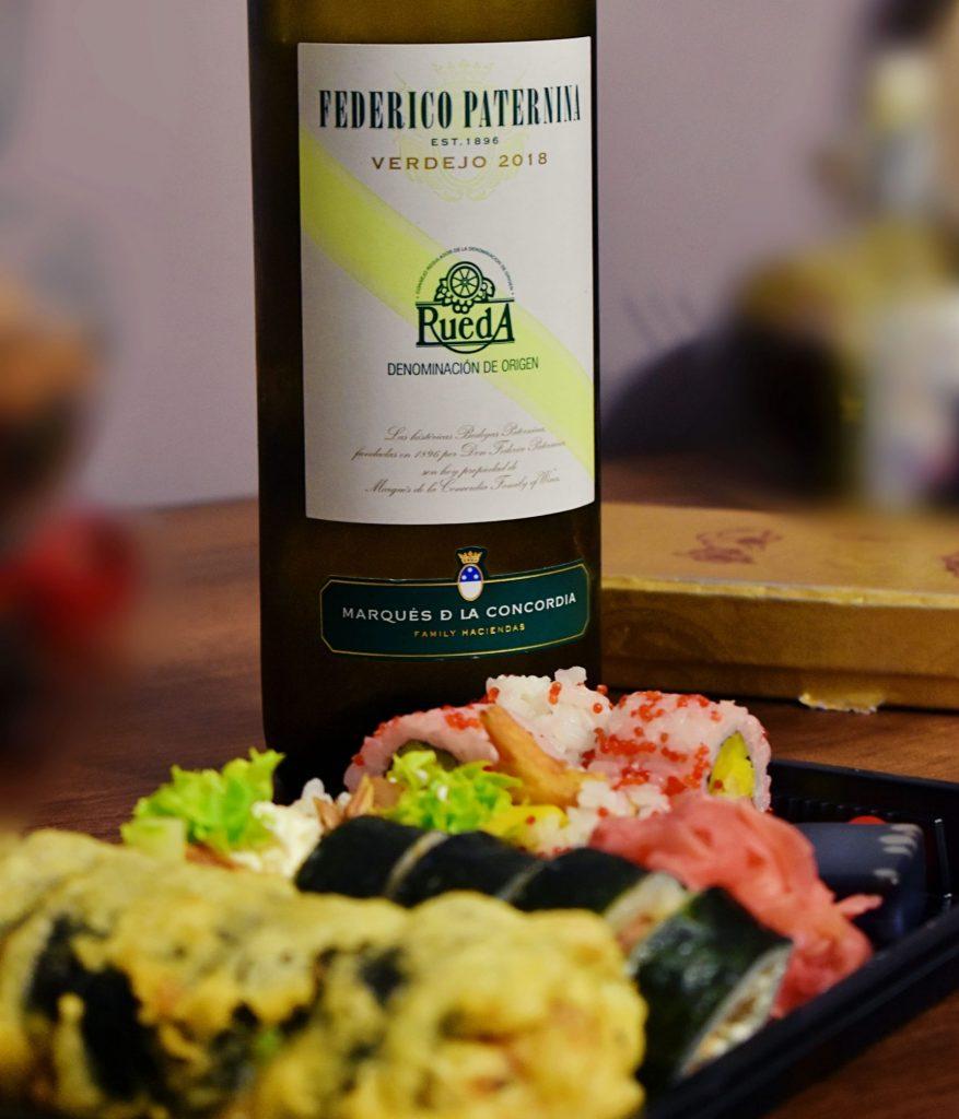 Verdejo, wino do sushi