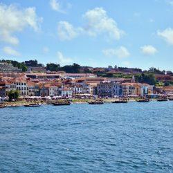 Widok na największe domy Porto