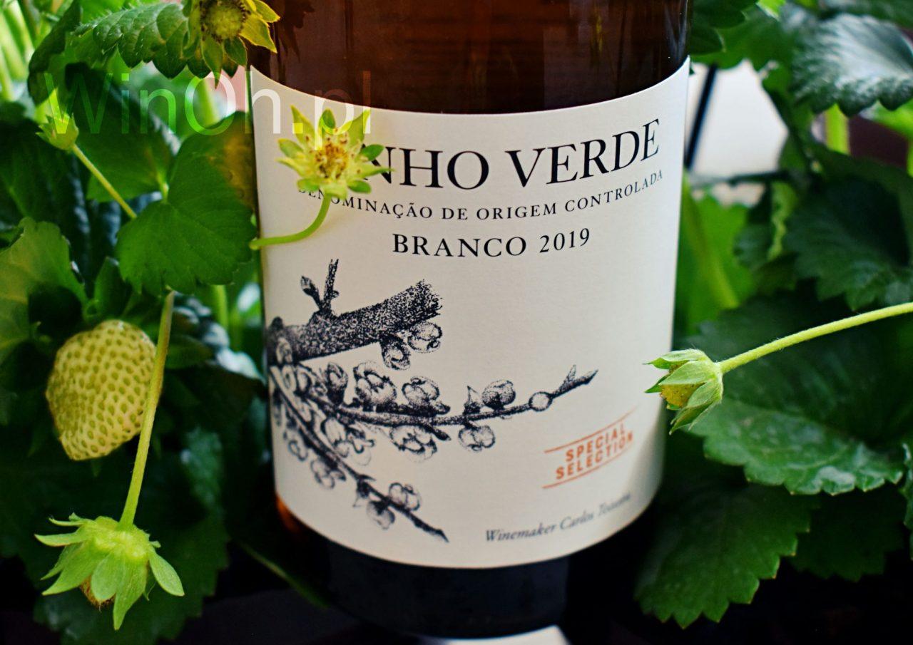 Wina na lato Vinho Verde