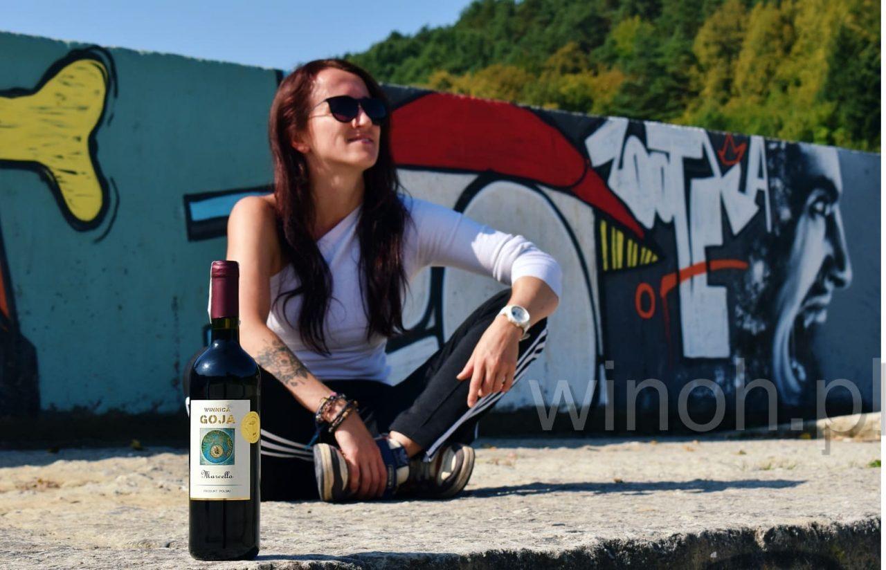 Winnica Goja - zdjęcie wina