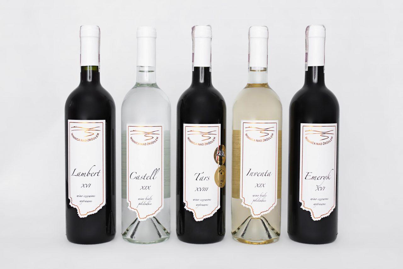 Winnica Nad Źródłem - wino