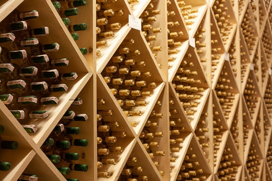 Winnica Słoneczny Zakątek - przechowywanie wina