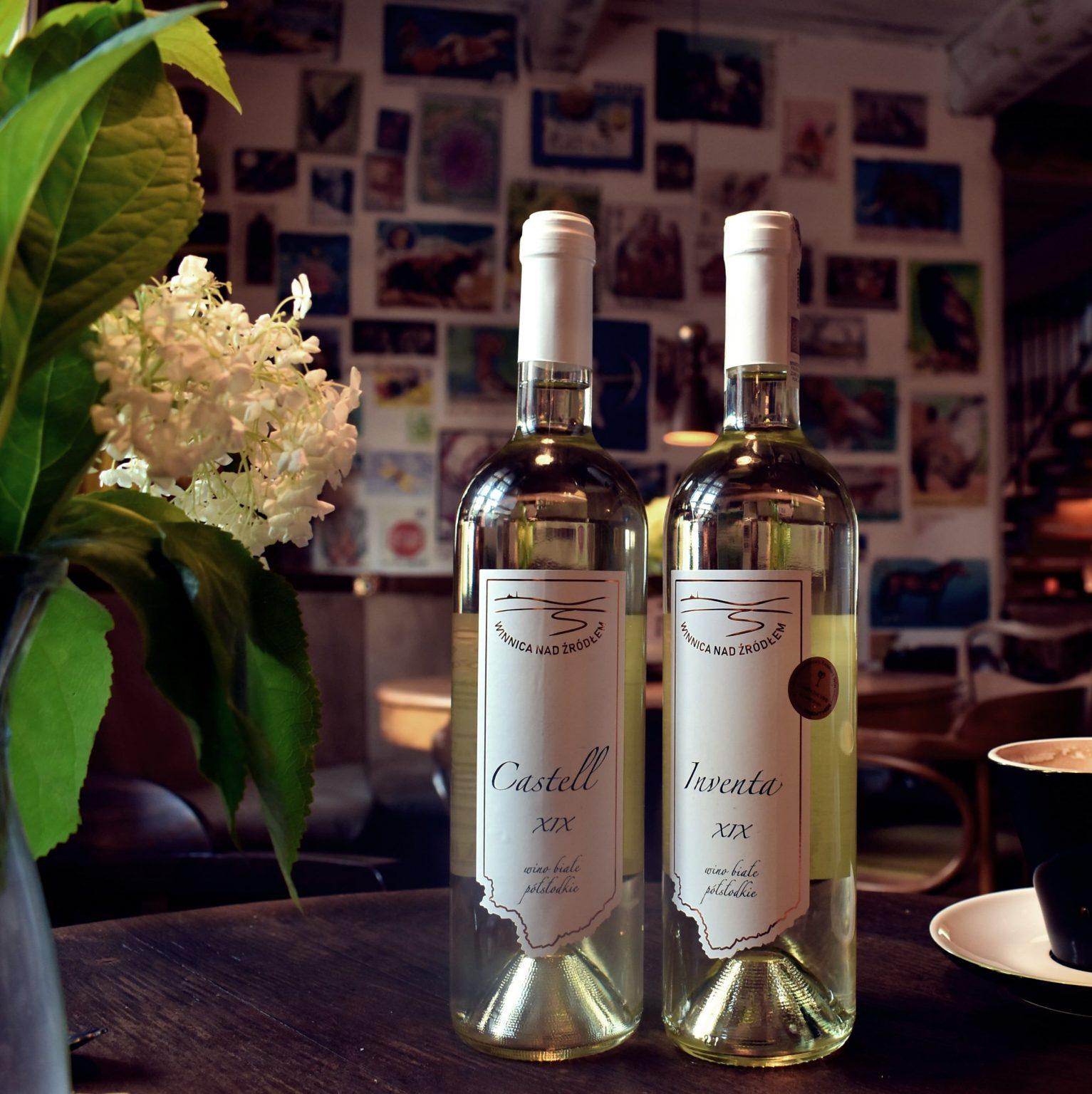 Winnica nad żródłem - wina arka