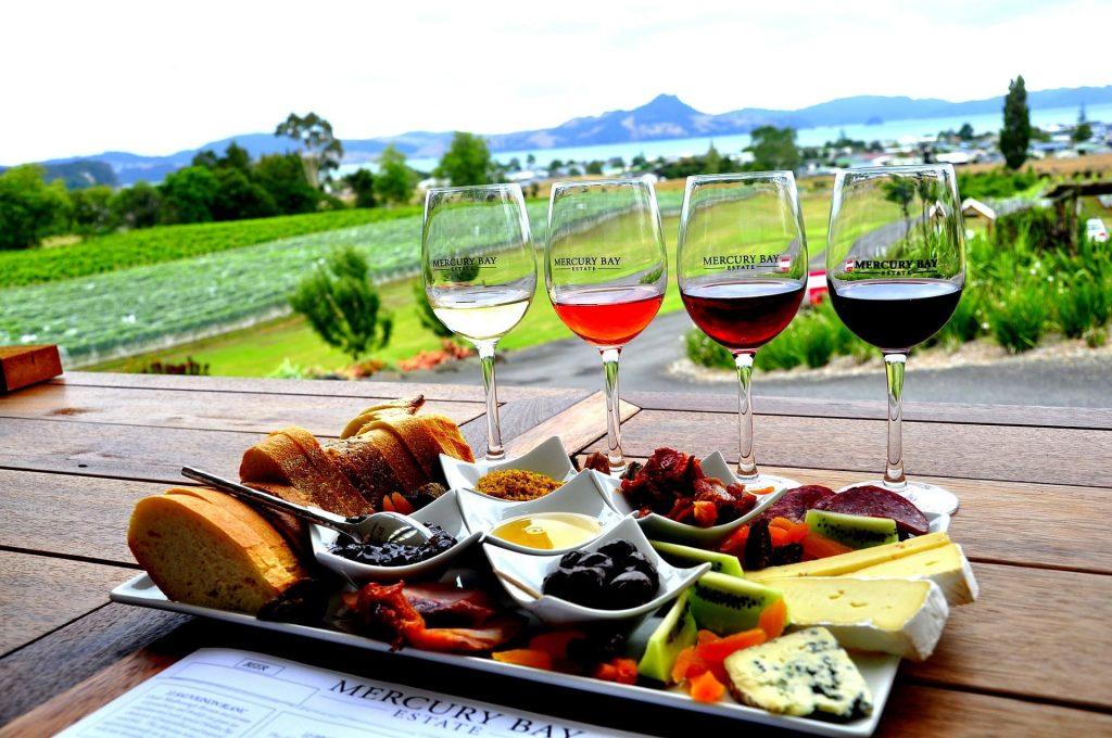 Wino wiedza, Winnice w Nowej Zelandii