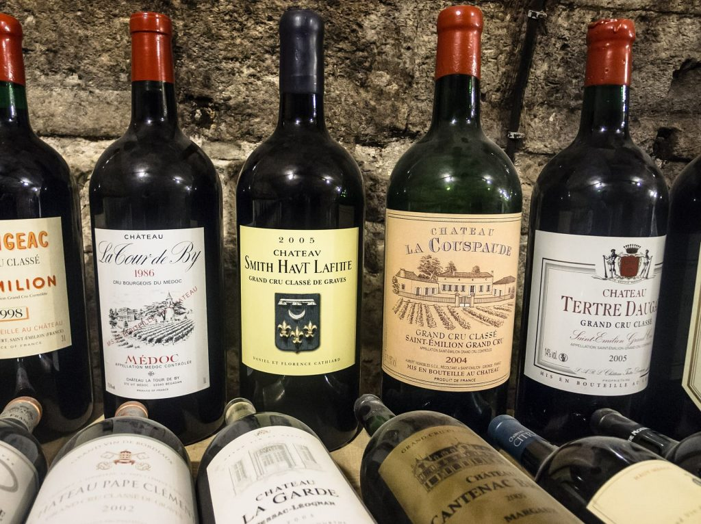 Wino Cabernet Sauvignon Chateau Bordeaux, Francja