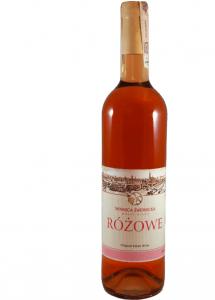 Wino Różowe, winnica Świdnicka