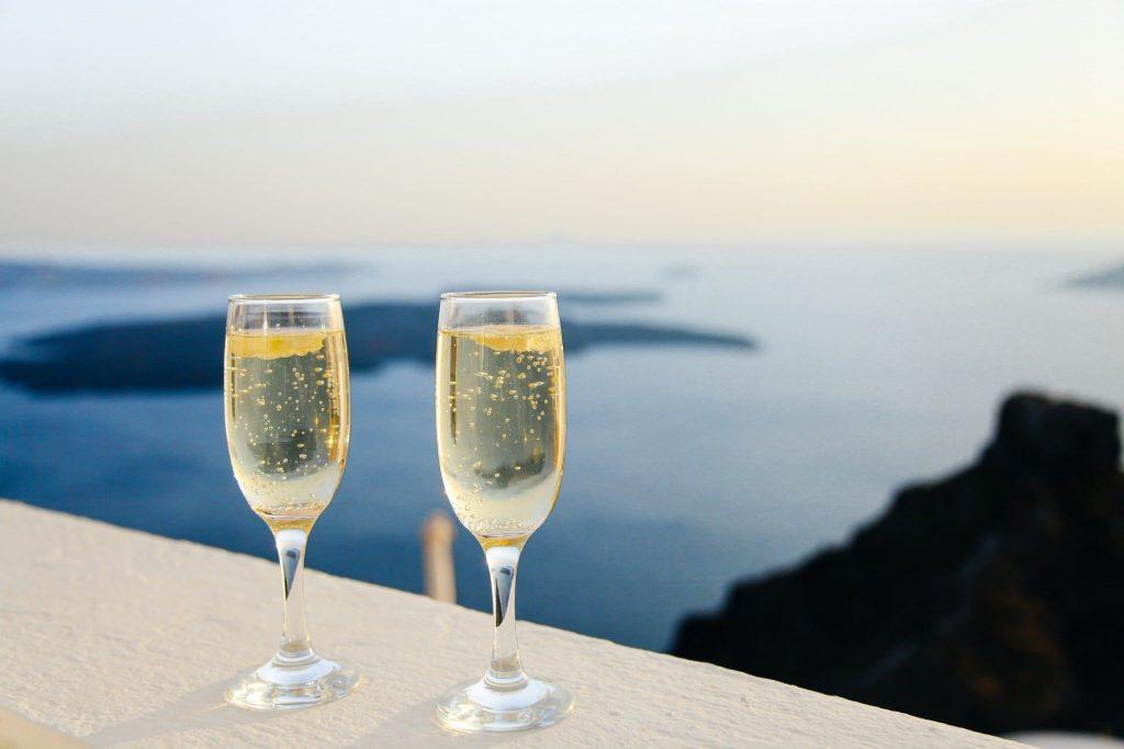 Wino musujące, panorama