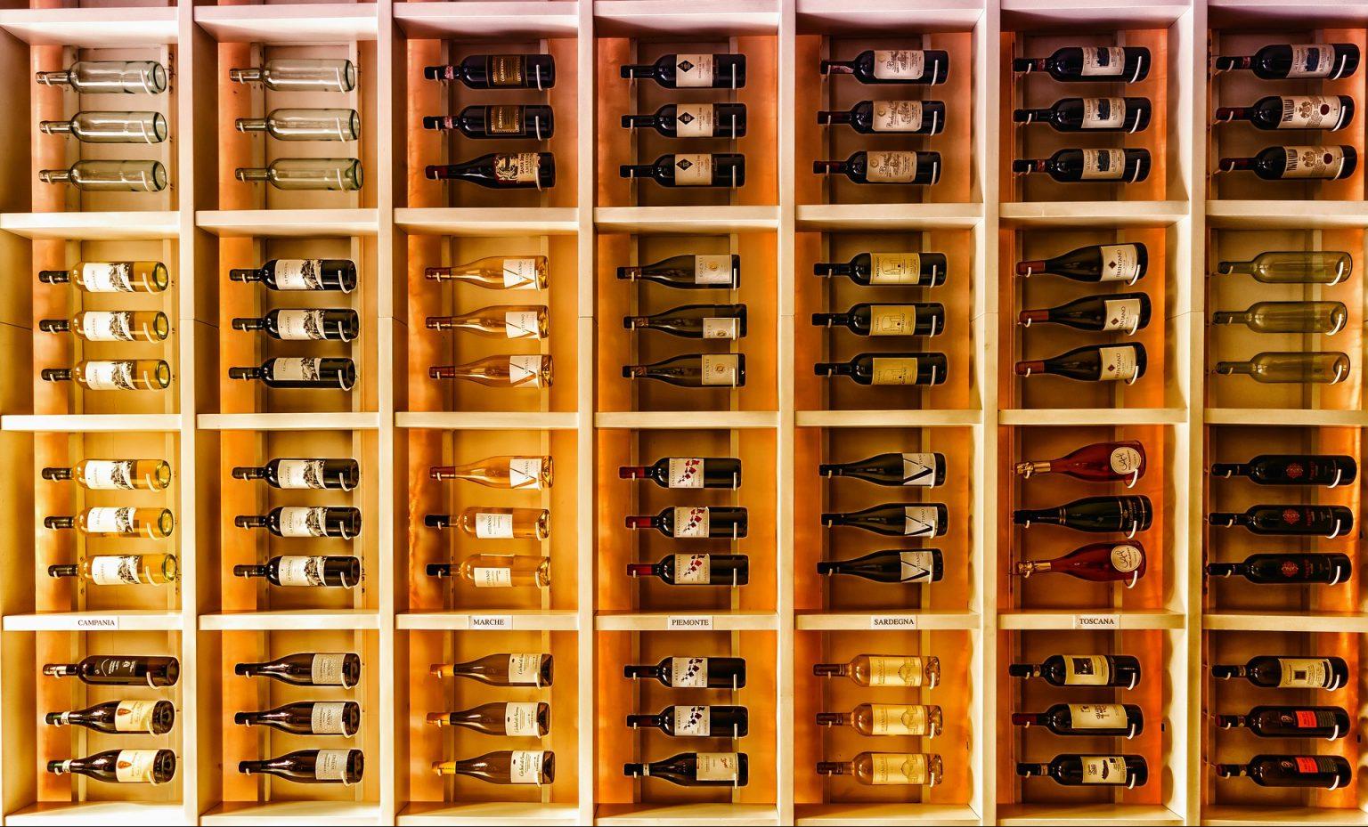 Wino przechowywanie