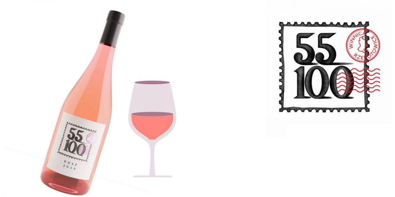 Wino we dwoje - rose 55-100